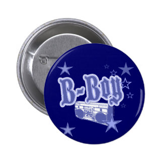 B-Boy Button