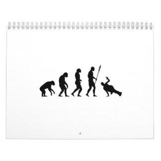 B-Boy Evolution Calendar
