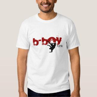 b-boy for life (red, black) t shirt