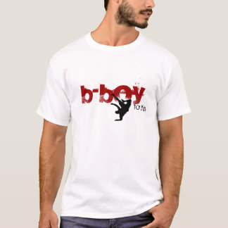 b-boy for life (red, black) T-Shirt