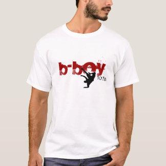 b-boy for life (red, black) T-Shirt