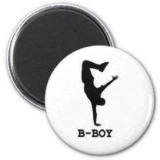 B boy fridge magnet