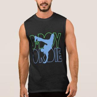 B-Boy Or Die Silhouette Sleeveless Shirt