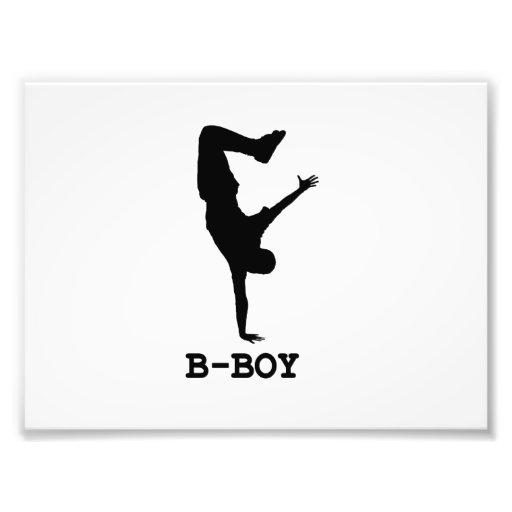 B Boy Photo Print