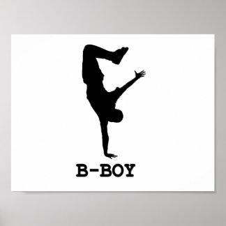 B Boy Print