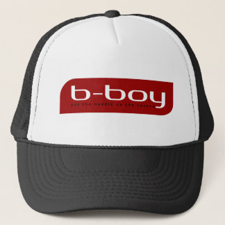 B-Boy (Red) Trucker Hat