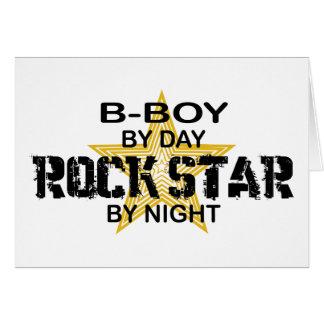 B-Boy Rock Star by Night Cards