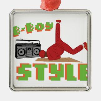 B-Boy Style Metal Ornament