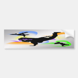 B-boying Bumper Sticker