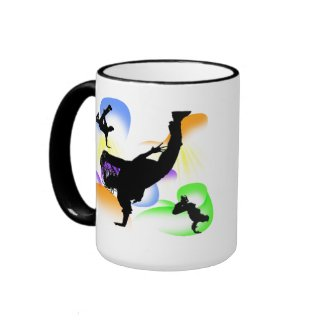 B-boying mug