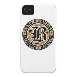 B&B's Fancy Script Logo Iphone 4 case