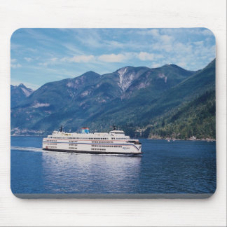B.C. ferry from Vancouver to Nanaimo on Vancouver Mouse Pad