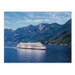 B.C. transbordador de Vancouver a Nanaimo en Vanco Tarjetas Postales
