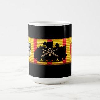 B Co. 4/23rd Inf. Vietnam Service Ribbon Mug