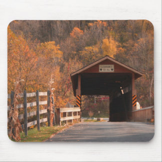 B\Covered bridge, Bedford, Pa. Mouse Pad
