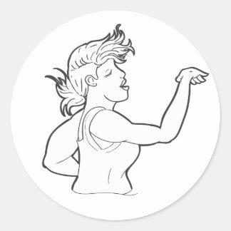 B Dancin Sticker