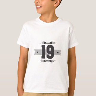 B-day 19 (Dark&Lightgrey) T-Shirt