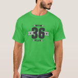Hand shaped B-day 36 (Dark&Lightgrey) T-Shirt