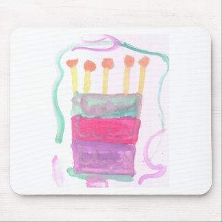 B Day Cake Mouse Pad
