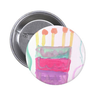 B Day Cake Pins