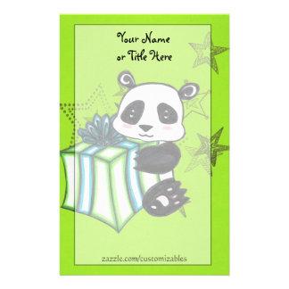 B-Day Panda Stationery