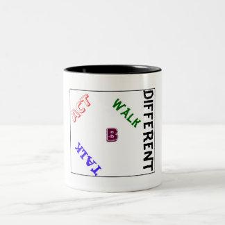 B-Different Style Two-Tone Coffee Mug