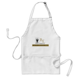 B.E. Media & Design Logo Adult Apron