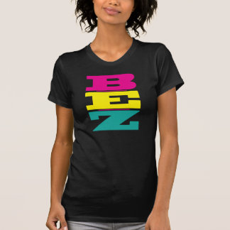 B-E-Z (Be Easy) - Pink & Yellow T-Shirt