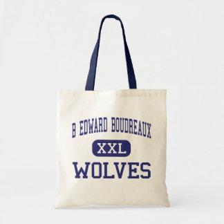 B Edward Boudreaux Wolves Middle Baldwin Canvas Bag