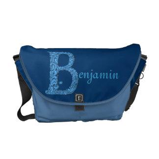 B - El alfabeto de Falck (azul) Bolsa De Mensajería