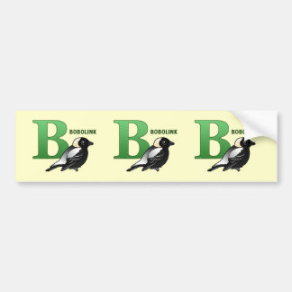 B está para Bobolink Pegatina Para Auto