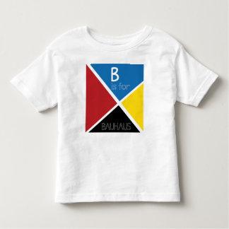 ¡B está para el Bauhaus! - La camiseta del niño Remeras