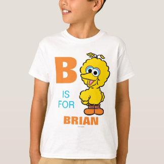 B está para el pájaro grande que los | añaden su playera
