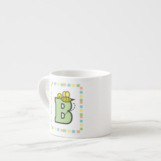 B está para la taza de la especialidad de la abeja taza espresso