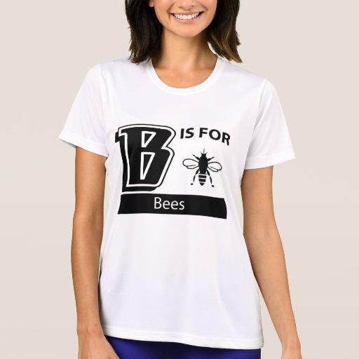 B está para las abejas camiseta