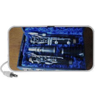 B Flat Clarinet Mp3 Speakers