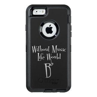 B Flat iPhone & Samsung Otterbox Case