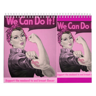 b...forever...aware...understanding breast cancer. wall calendars