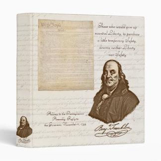 B. Franklin: Libertad y seguridad - carpeta