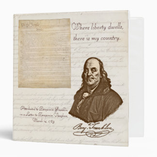 B. Franklin: Liberty & Country - Binder