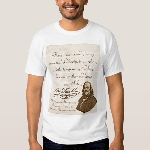 B. Franklin: Liberty & Safety - Kid's T-Shirt #1