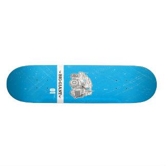 B-G_Deck_Cyan1 Skate Deck