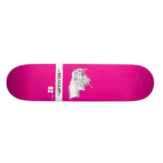 B-G_Deck_Magenta2 Skateboard Deck