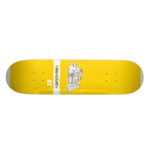 B-G_Deck_Yellow3 Skate Deck