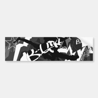 B-Girl Break Dancer Bumper Sticker