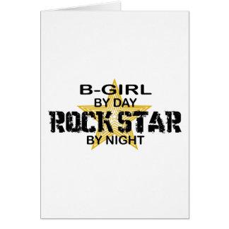 B-Girl Rock Star by Night Card