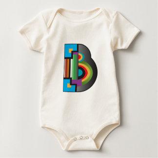 B grande body de bebé