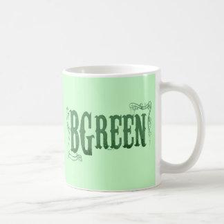 B Green Mugs
