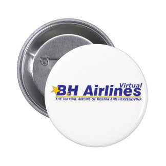 B&H Airlines Virtual - Badge Pinback Button