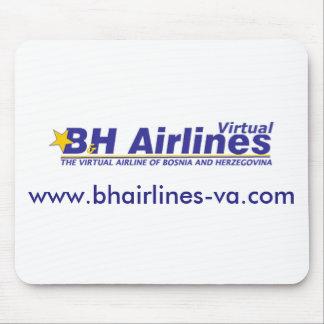 B&H Airlines Virtual - Mousepad